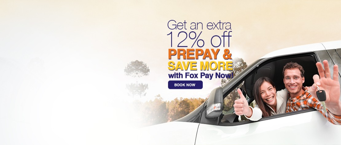 12% off with prepay rentals