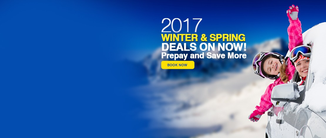 Winter and spring deals