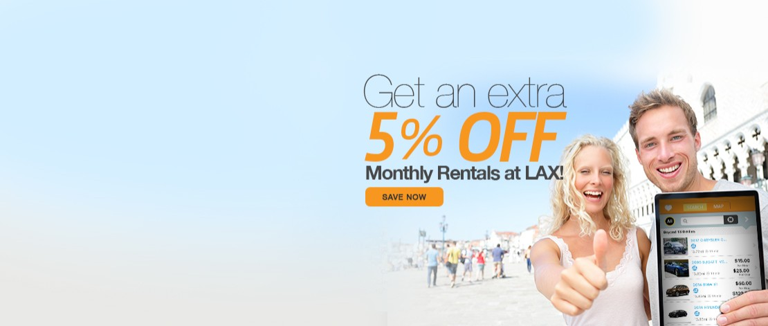 5% off with long term rentals
