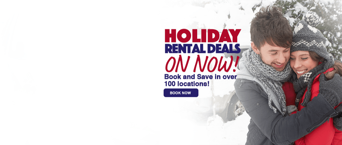 holiday winter rental deals